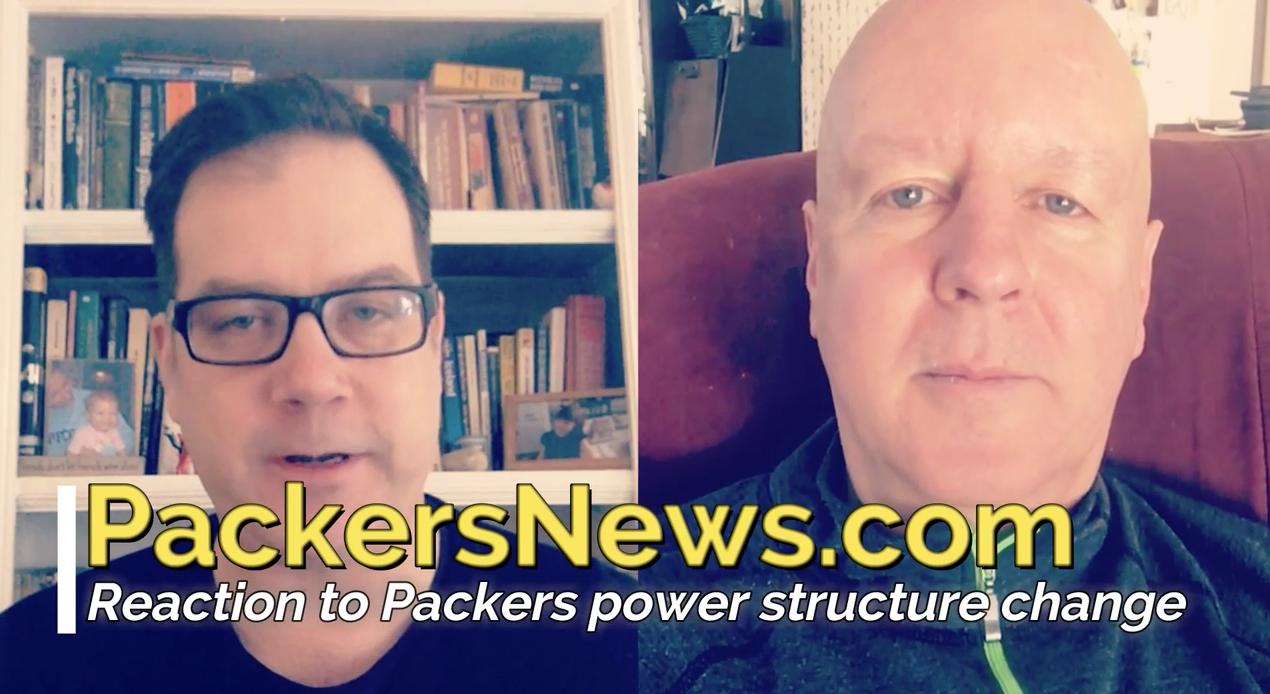 Packers Raise Eyebrows With New Power Structure