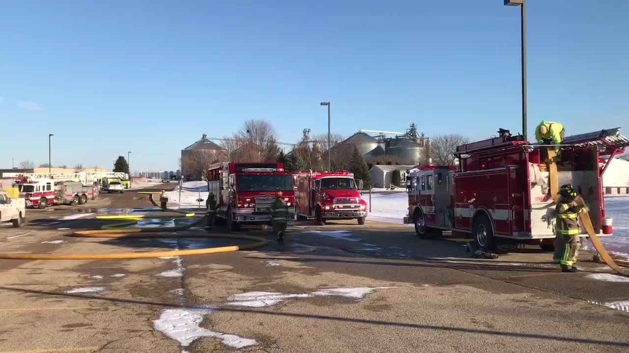 Crews respond to reported fire at Ripon cookie plant