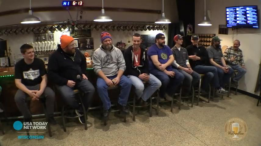 Nine brewers from the Fox Valley area were at Bare Bones Brewery in Oshkosh talking beer and previewing what they're bringing to the Fox Valley Winter Beer Festival, Saturday, January 13th at Bare Bones Brewery from 2pm - 6pm.