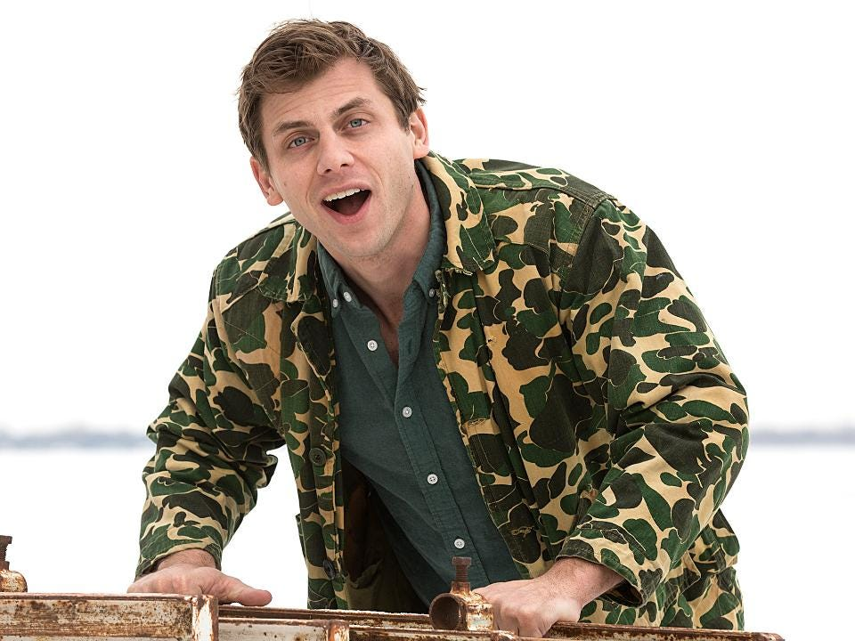Comedian Charlie Berens talks about the creation of Manitowoc Minute series.