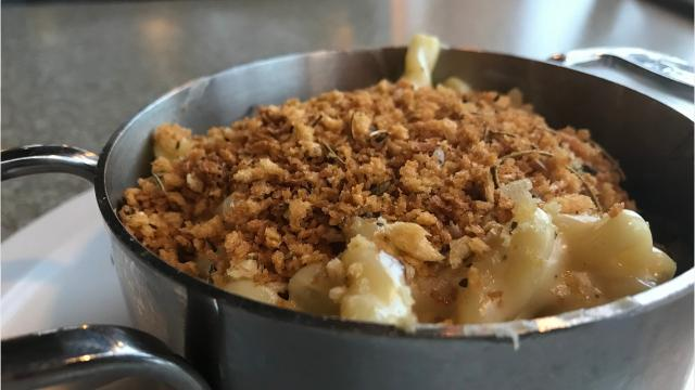Mac and cheese is a popular dish at Red Eye Brewing in Wausau and features plenty of Wisconsin favorites including Sartori, Carr Valley, Nueske's and Sassy Cow.