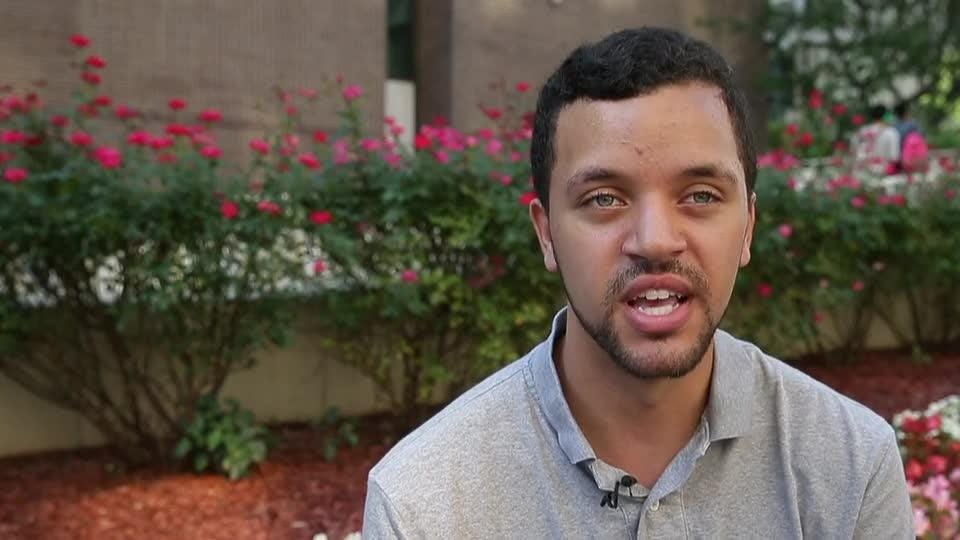 When Tyler Mulvenna struggled in his classes at Georgia State University in Atlanta, he found support through a program designed for students at risk of dropping out.