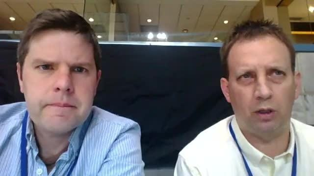 Marquette video chat with Ben Steele and Jeff Maillet