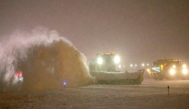 Video: How the snow is cleared at Mitchell