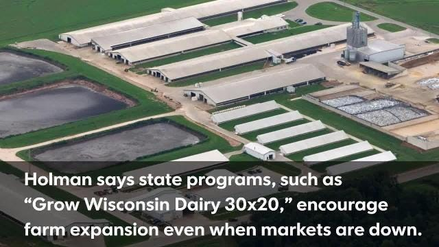 Wisconsin dairy farms