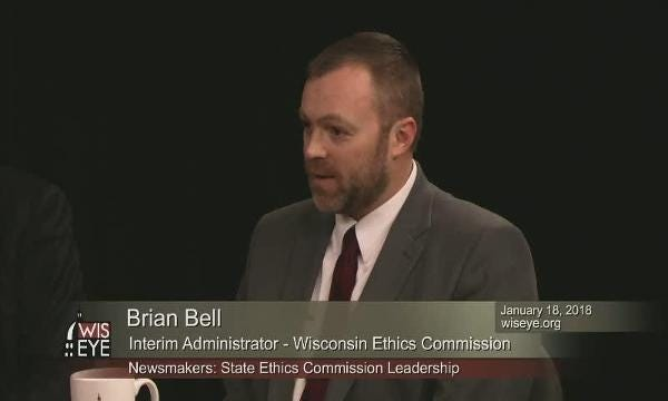 Brian Bell talks about his role with the Wisconsin Government Accountability Board