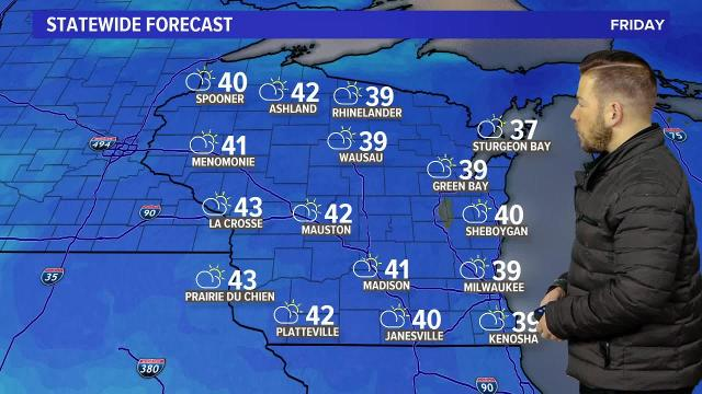 Wisconsin weather forecast for Friday, Jan. 19