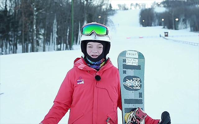 Daina Shilts has a rare disability called Noonan Syndrome, but she hasn't let that stop her. Shilts is looking for first gold medal at Winter X-Games.