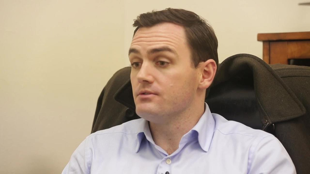 Rep. Mike Gallagher speaks to the Green Bay Press-Gazette about immigration reform legislation in Congress and his first year as a U.S. Congressman.