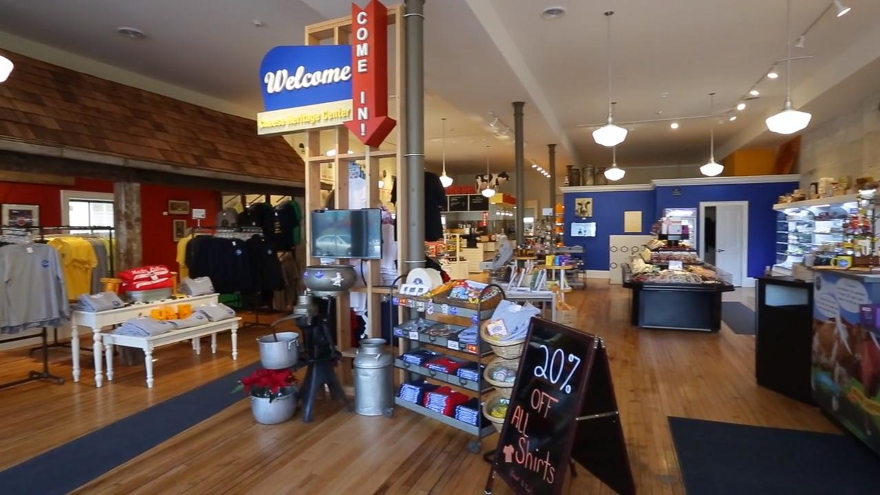 The Plymouth Cheese Counter and Dairy Heritage Center opened recently in downtown Plymouth, Wis., where the story of Cheese in Plymouth and Sheboygan County are heralded.