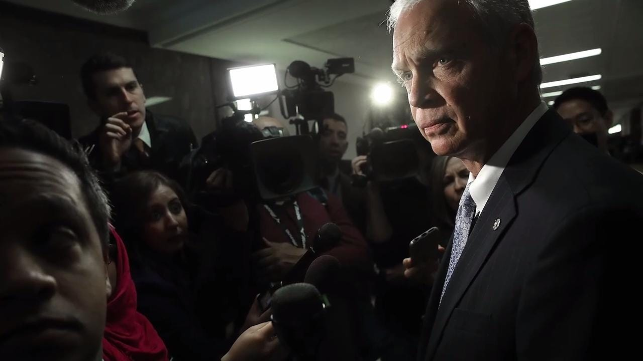 The blowback from Ron Johnson's FBI statement