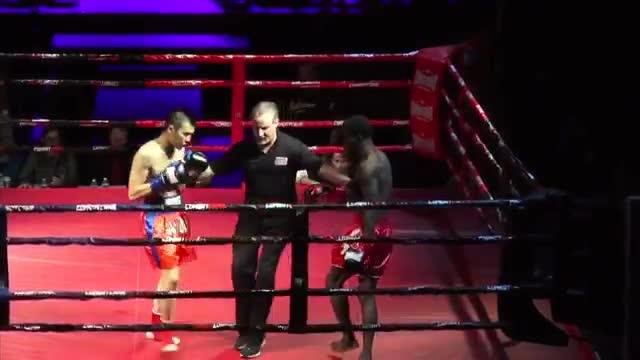 Amateur kickboxer Dennis Munson Jr. died after his debut fight in March 2014 at the Eagles Club in Milwaukee. This video of the fight was submitted to police, who found no criminal wrongdoing. The video is missing 32 seconds, when Munson collapses.