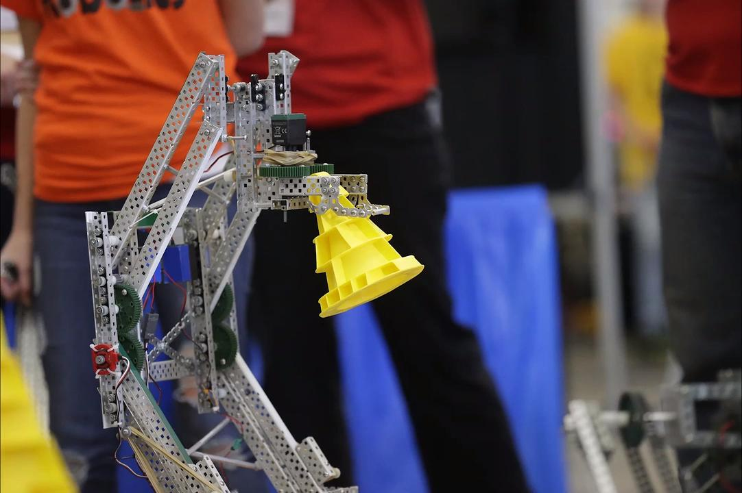 54 teams competed at the 5th annual Ishamon Harris Vex Robotics Memorial  Tournament in Fond du Lac.