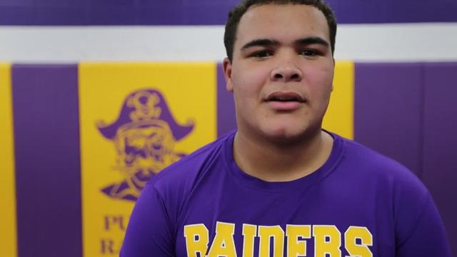 Senior Spotlight Q&A video with Two Rivers wrestler Damien Bullock