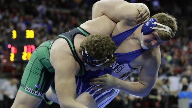 The Bluejays senior talks about his confidence going into the WIAA wrestling postseason on the heels of a Marawood Conference championship last weekend.