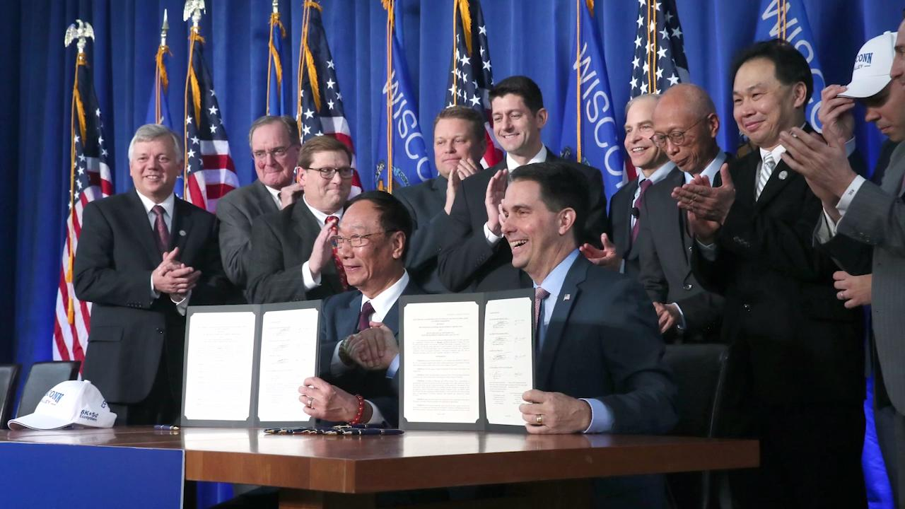The cost of the Foxconn deal