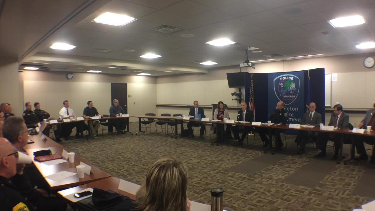 AG Brad Schimel holds roundtable in Outagamie County