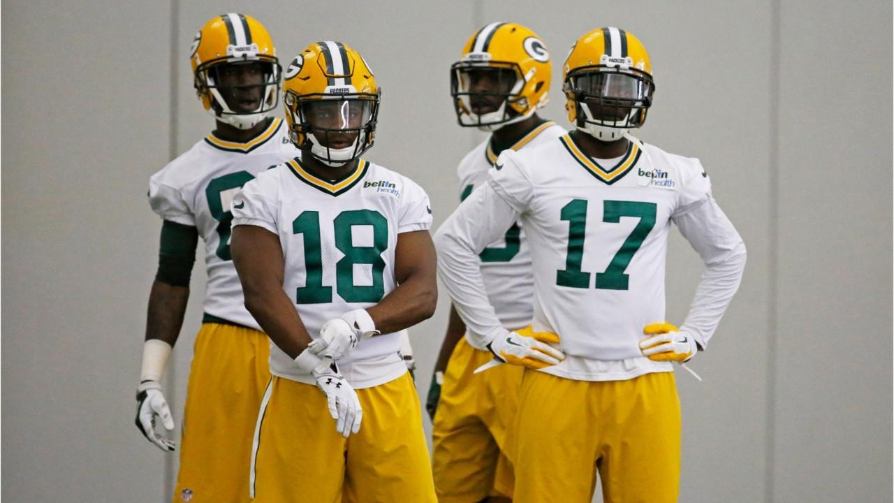 A quick look at where the Packers stand at the wide receiver position heading into the offseason. (Feb. 7, 2018)