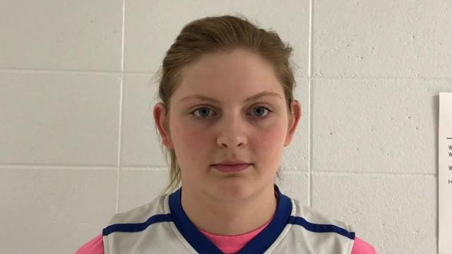 Amherst senior center Heather Pearson is a big reason why the Falcons are ranked third in Division 3 by Associated Press and are riding an 18-game winning streak heading into action Friday night.