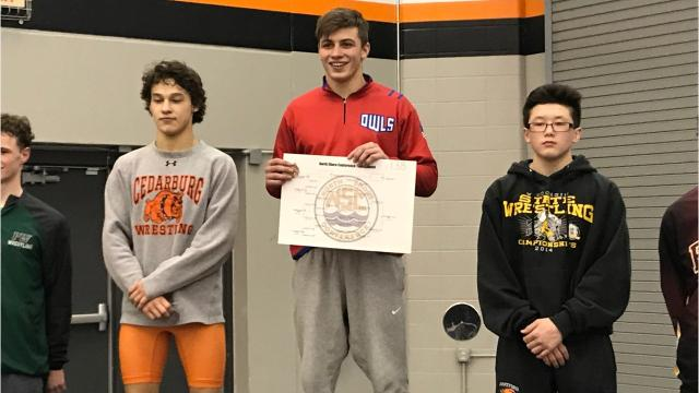 After Slinger's Caleb Ziebell won the North Shore Conference title Saturday, he explained his mentality as a wrestler, told us about his family's roots in the sport and shared why he committed to Division I Davidson.