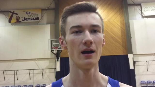 The lone senior on the Wildcats roster talks about the growth of the team this year, winning the first conference games of his prep career and his ability to rebound among other topics.