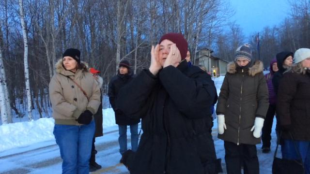 Newport State Park manager Michelle M. Hefty conducted a two-part animal tracking class which concluded with a coyote calling demonstration Feb. 8, 2018. The class was hosted by The Ridges Sanctuary. Take a listen ...
