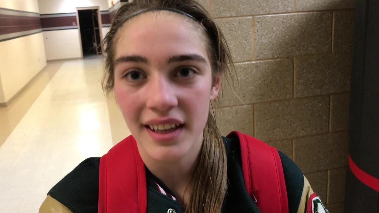 Berlin's Mackenzie Kurczek scored 15 of her team-high 22 points in the second half to lead Berlin to the come-from-behind win over Winneconne