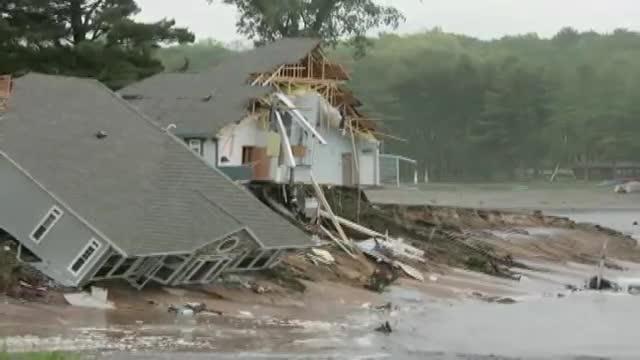 A week or record-breaking rainfall totals in southern Wisconsin claimed several counties as federal disaster areas, causing evacuations, road closures and widespread flooding in 2016.