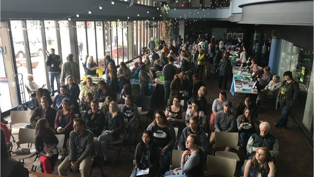 Green Bay's book and author festival returns for its second year April 19-22. This year's lineup will feature R.L. Stine, Roxane Gay, Danez Smith, Hillary Jordan, Lynda Barry and more. Feb. 14, 2018.