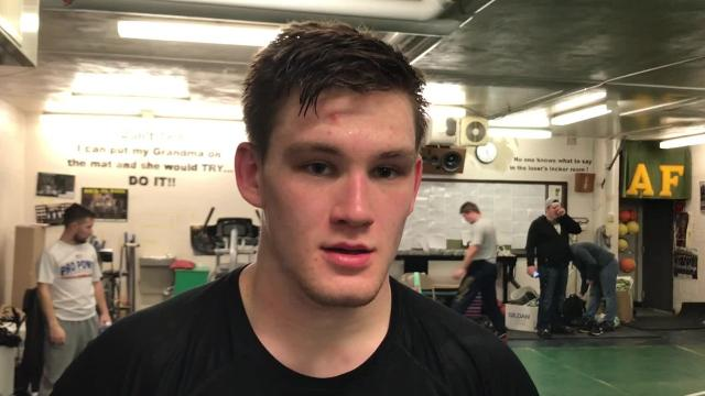 Adam-Friendship wrestler Cameron Caldwell weighs closer to 180 pounds, but he'll attempt to qualify for the Division 2 state wrestling meet at 195 on Saturday at the Richland Center Sectional.