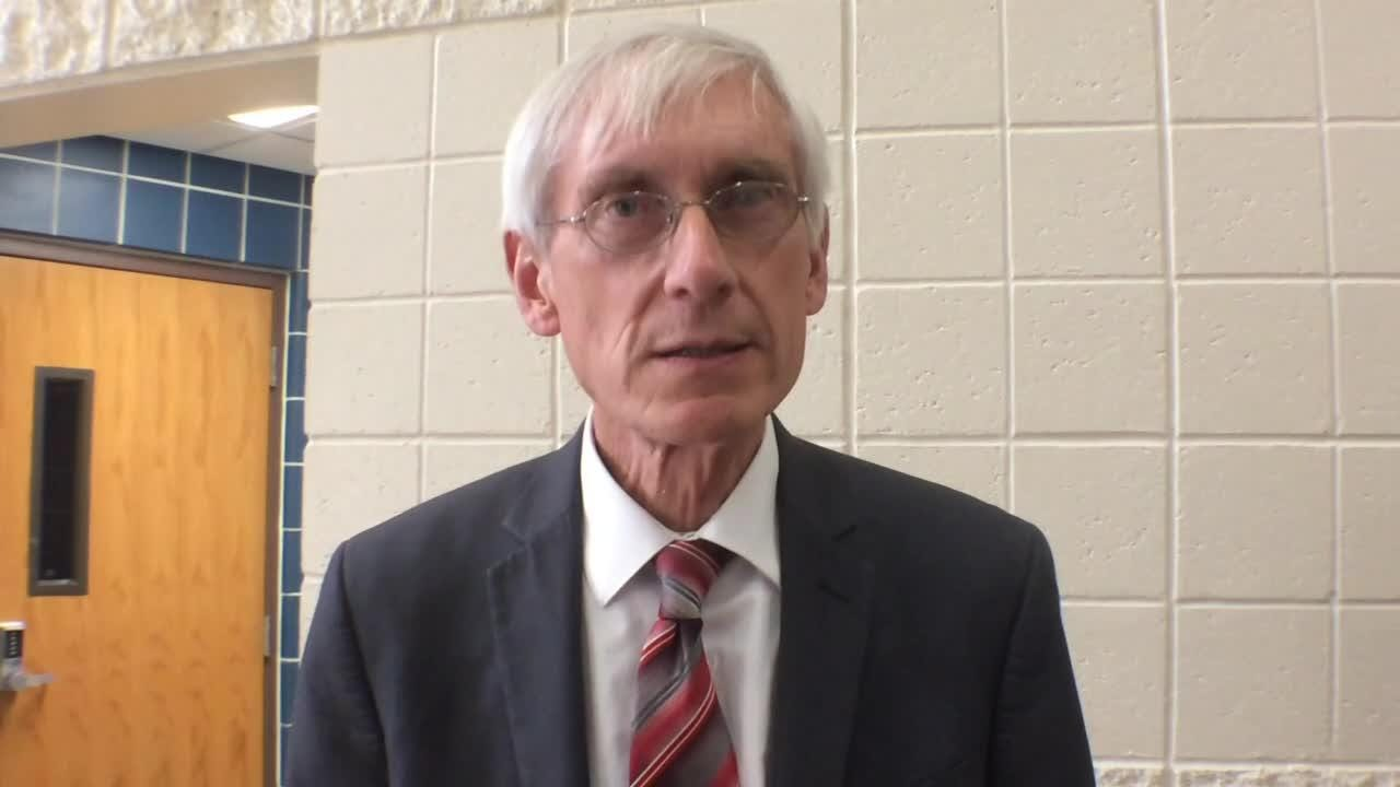 Evers spoke out after the Wednesday shooting of 17 students at a South Florida High School.