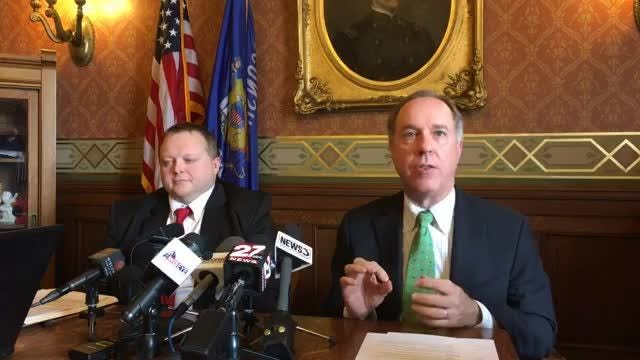Speaker Robin Vos (R-Rochester) held a news conference about the legislation being considered in the Wisconsin State Assembly, which includes the special session bills on welfare reform.