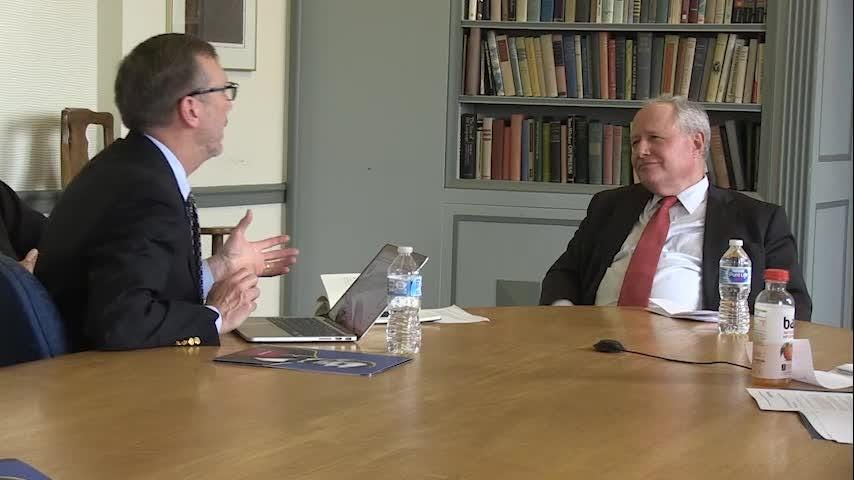 "William Kristol joined the ""On Politics"" team to talk politics. Kristol is editor at large of The Weekly Standard and a regular on ABC's ""This Week."" A leading conservative thinker, he also was one of the first members of the Never Trump movement."