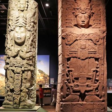 """Maya: Hidden Worlds Revealed,"" the traveling exhibit running through May 28  at the Milwaukee Public Museum is the largest display ever shown in the United States of the ancient Mayan civilization that once dominated Central America."