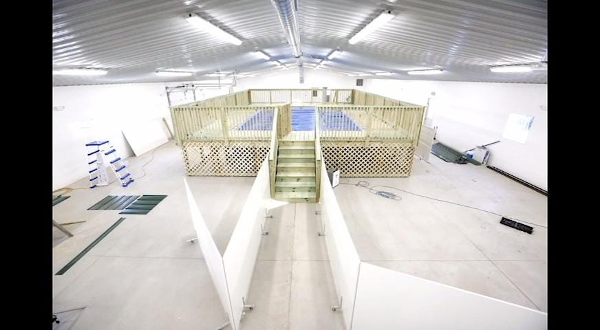 Peebles Play and Stay adds pool for four legged, furry clients.
