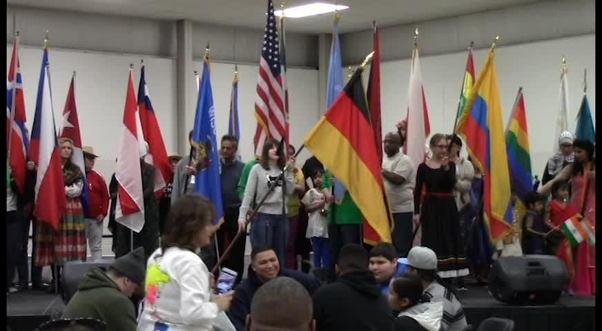 It really was a small world after all at the Fond du Lac Fairgrounds when as many as 50 countries and cultures met under one roof.