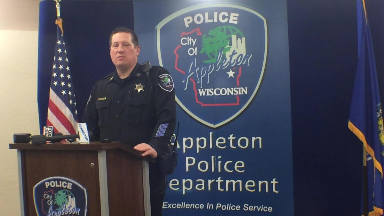 Appleton police discuss school threat arrest