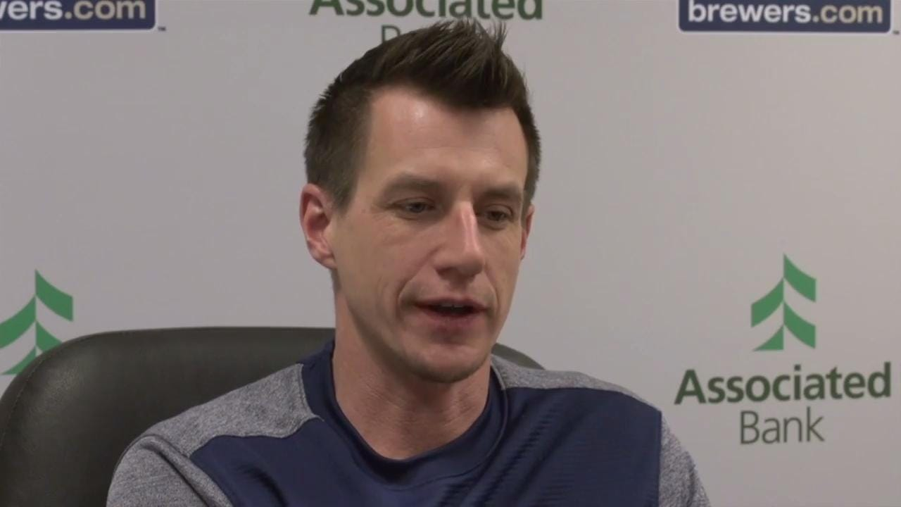 Brewers manager Craig Counsell talks about what he looks forward to with the pitchers during spring training.