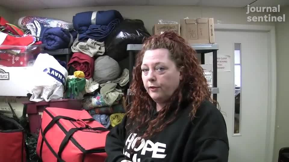 Eva Welch co-founder of Street Angels Milwaukee Outreach talks about their mission serving the homeless in Milwaukee.