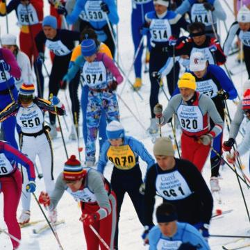 After canceling last year's race due to lack of snow, the American Birkebeiner is back.
