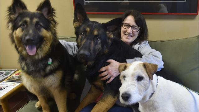 Carol Boudreau retired after the shelter merged with the Wisconsin Humane Society  to become the Wisconsin Humane Society Door County Campus.