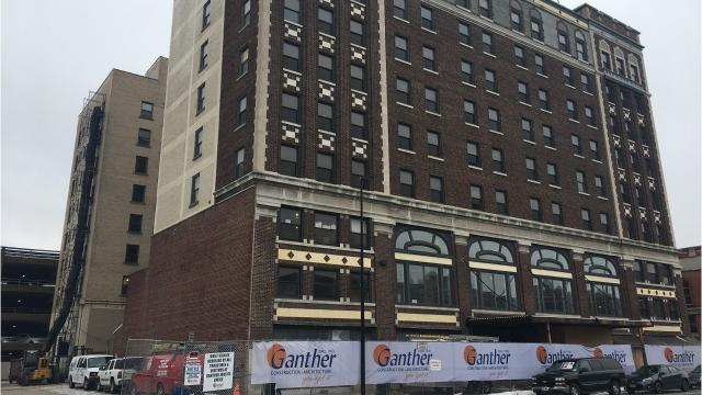 In addition to work resuming, Receiver Paul Swanson selected a hotel brand and a management company in mid-February with an eye toward opening later this year. Feb. 20, 2018.