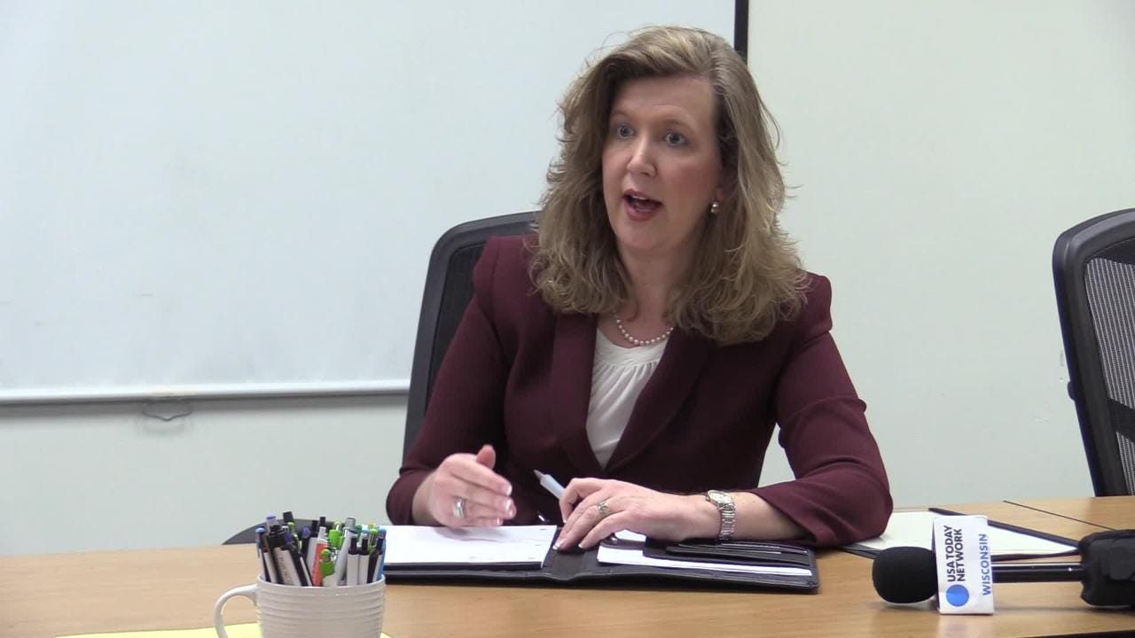 Superintendent candidate Vickie Cartwright who serves as associate superintendent for exceptional student education in the Orange County Public Schools in Orlando, Florida.  She answers 5 questions from the Oshkosh Northwestern.