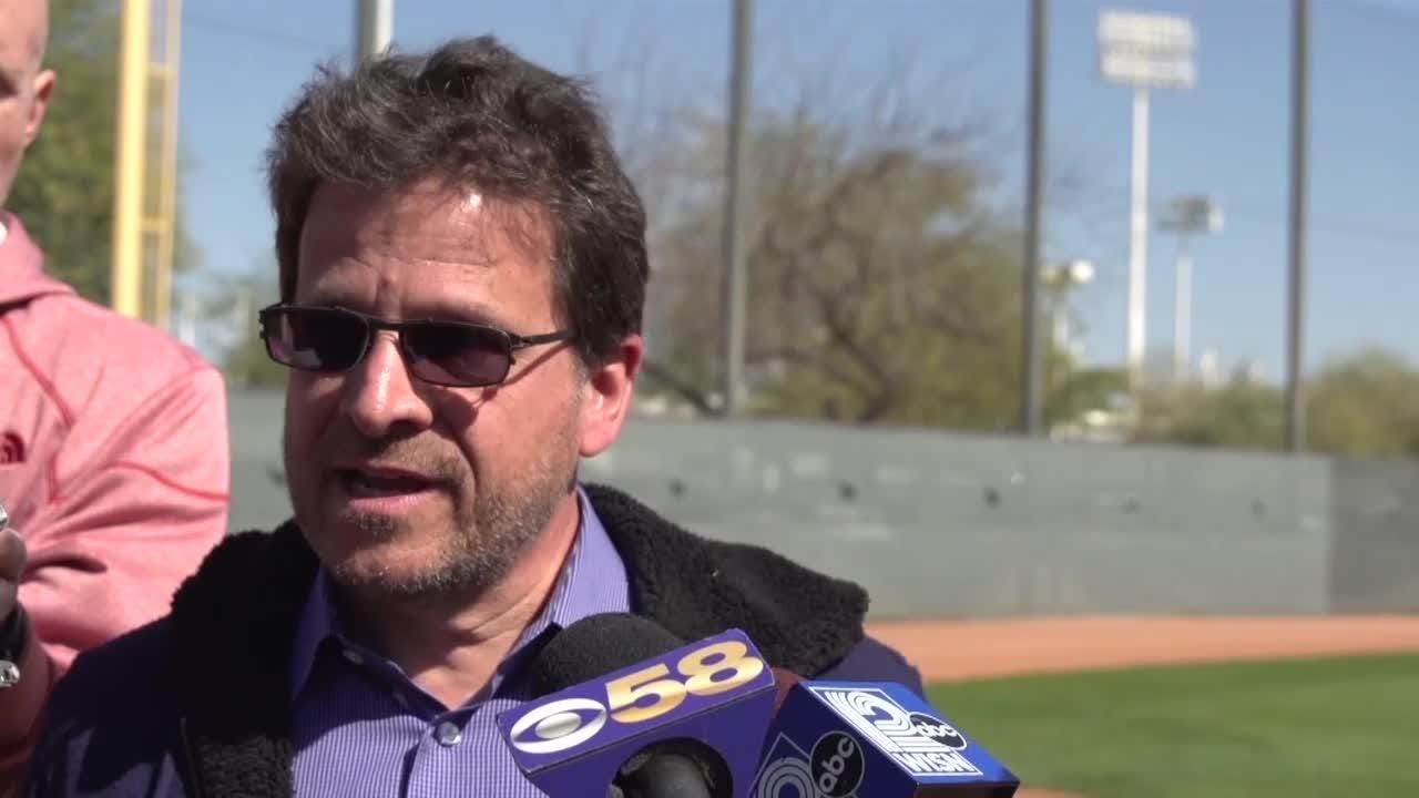 Brewers owner Mark Attanasio talks about comparing this year to last year, his expectations for this year, and any possible additions they might make.