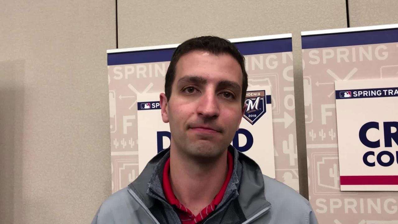 Brewers GM David Stearns tells us what his message to the team was this year.