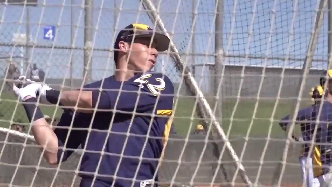 Brewers manager Craig Counsell talks about how he plans on using both Ryan Braun and Christian Yelich.