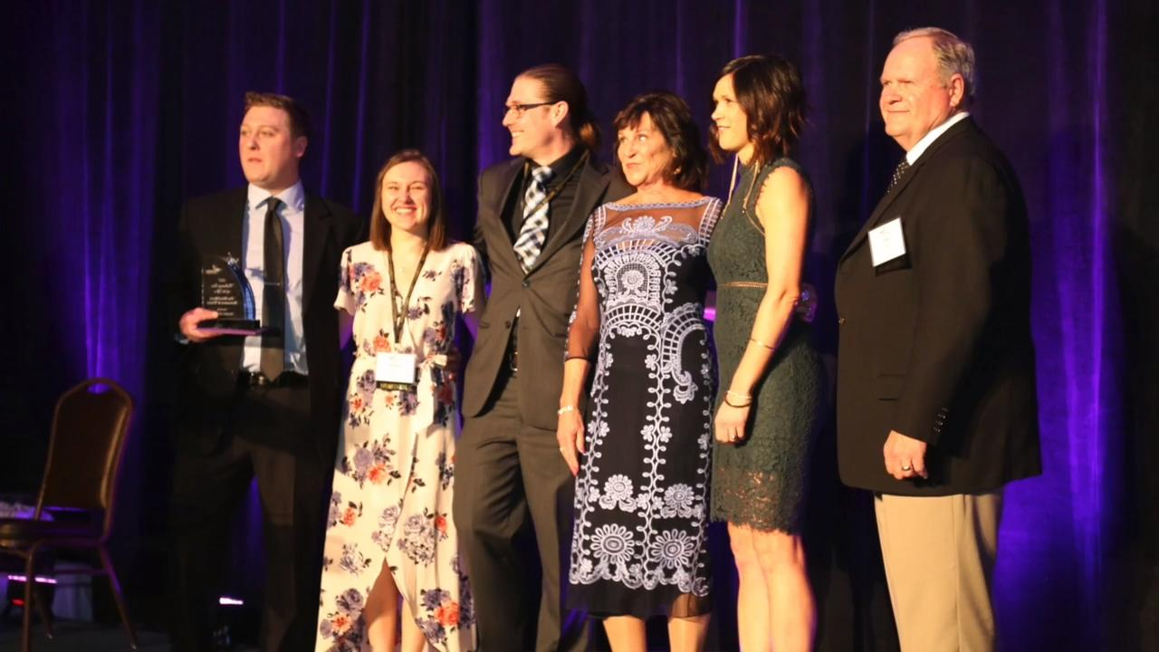 The Chamber Champions Gala at The Osthoff in Elkhart Lake awarded firms and individuals for their achievements in the business world in Sheboygan.  Over 600 people attended the event.