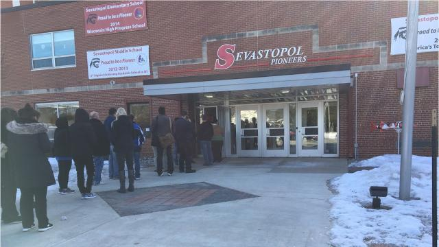 Police investigated threat reported at 7:50 a.m. Thursday, Feb. 22, 2018, and determined it wasn't credible and the school was safe. The usual school day resumed at 9 a.m. at Sevastopol schools.