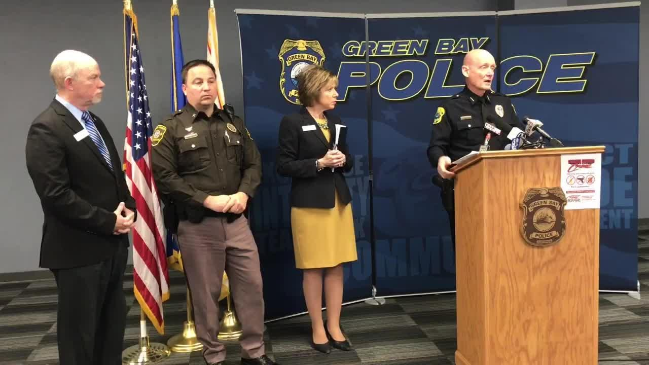 Green Bay Police Chief Andrew Smith called for posting armed officers in Green Bay schools in response to the nationwide spate of school threats and shooting incidents.