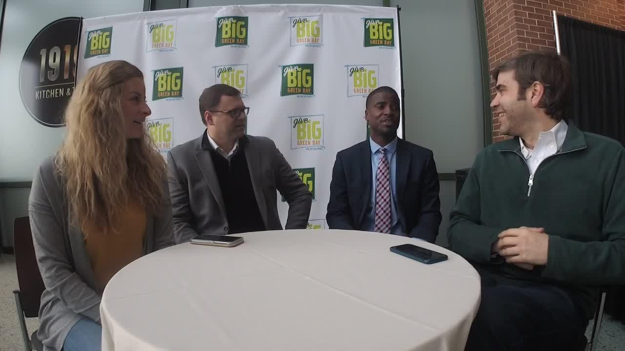 The Green Bay Packers and Greater Green Bay Community Foundation have teamed up to help raise money for more than 30 nonprofits in the Green Bay Area. Jeff Bollier and Shelby Le Duc bring you the details. Visit www.givebiggreenbay.org for more info.
